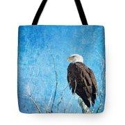 Bald Eagle Blues Tote Bag