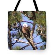 Bald Eagle Grooming Tote Bag