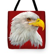 Bald Eagle Painting Tote Bag
