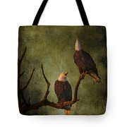 Bald Eagle Serenade Tote Bag