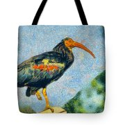Bald Ibis Tote Bag