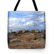 Bald Rock Panorama Tote Bag