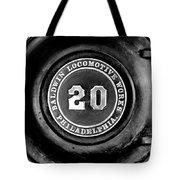 Baldwin 20 - Bw Tote Bag