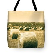 Baled And Ready Tote Bag