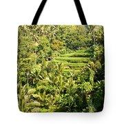 Bali Sayan Rice Terraces Tote Bag