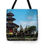 Bali Wayer Temple Tote Bag