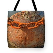 Ball And Chain Tote Bag by Adam Jewell