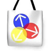 Ball Arrows Tote Bag