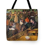 Ball At The Moulin De La Galette Tote Bag