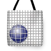 Ball In The Net Tote Bag