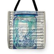 Ball Jar Classical  #132 Tote Bag