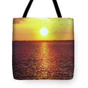 Ball Of Fire Tote Bag