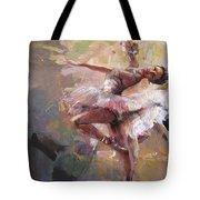 Ballerina 40 Tote Bag