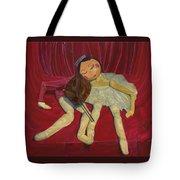 Ballerina And Partner Tote Bag