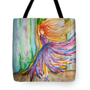 Ballerina Curtain Call Tote Bag