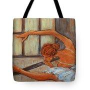 Ballerina II Tote Bag by Xueling Zou