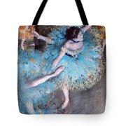 Ballerina On Pointe  Tote Bag