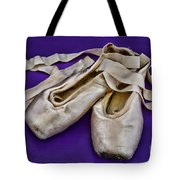 Ballerina Slippers Tote Bag