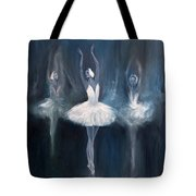 Ballerina. Swan Lake. Tote Bag