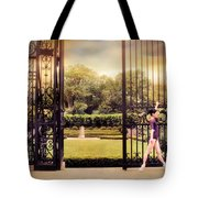 Ballet At The Vanderbilt Gate Tote Bag