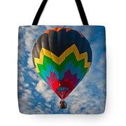 Balloon At Sunrise Tote Bag