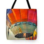 Balloon Banner Tote Bag
