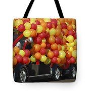 Balloon Car Tote Bag