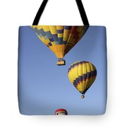 Balloon Fiesta 2012 Tote Bag by Mike McGlothlen