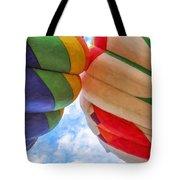 Balloon Fist Bump Tote Bag