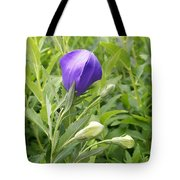 Balloon Flower Ready To Launch Tote Bag