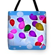 Balloon Frenzy Tote Bag