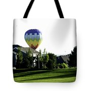 Balloon House Tote Bag