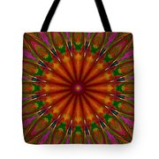 Balloon Kaleidoscope Tote Bag