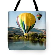 Balloon Reflections Tote Bag