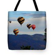 Balloon Rise Tote Bag