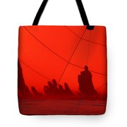 Balloon Shadows Tote Bag