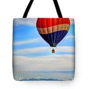 Balloon Swirl Tote Bag by Scott Mahon