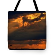 Ballooning With The Gods Tote Bag
