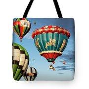 Balloons Away Tote Bag