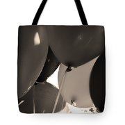 Balloons In Sepia Tote Bag