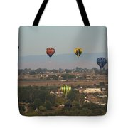 Balloons Over The Valley Tote Bag