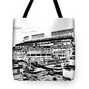 Ballpark Tote Bag