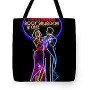 Ballroom Dancing Sign Tote Bag