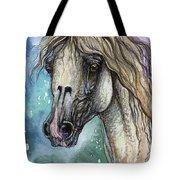 Balon Polish Arabian Horse Portrait 4 Tote Bag