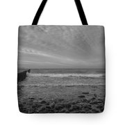 Baltic Sea And Clouds Tote Bag