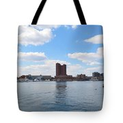 Baltimore Harbor Tote Bag