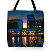 Baltimore Harborplace Light Street Pavilion Tote Bag