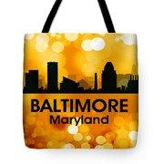 Baltimore Md 3 Tote Bag