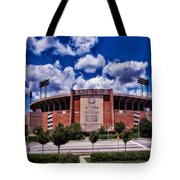 Baltimore Memorial Stadium 1960s Tote Bag
