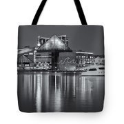 Baltimore National Aquarium At Twilight II Tote Bag